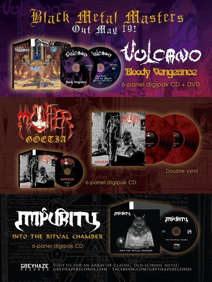 Vulcano - Mystifier - Impurity